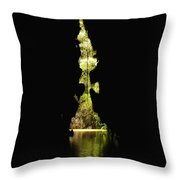 Nature View From Cave In Cuba Throw Pillow