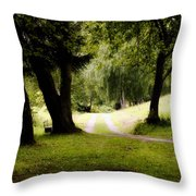 Nature Wonderland Throw Pillow