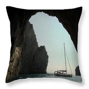 Rock Canopy Throw Pillow