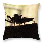 Natures Beast Throw Pillow