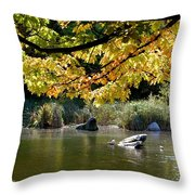 Natures Bliss Throw Pillow