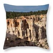 Natures Caves Throw Pillow