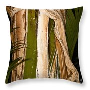 Nature's Clothing Throw Pillow