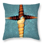 Natures Cross Throw Pillow