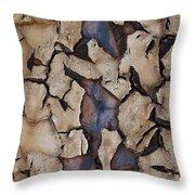 Natures Design Throw Pillow