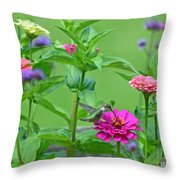Nature's Dinner Table Throw Pillow