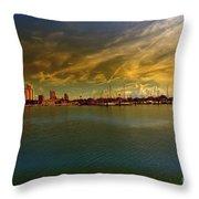 Natures Dramatic Skies  Throw Pillow