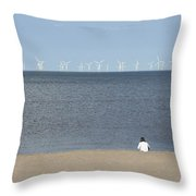 Natures Energy Throw Pillow
