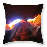 Natures Flare For Art Throw Pillow