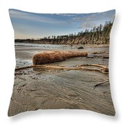 Natures Garbage Throw Pillow