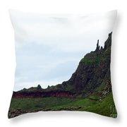 Nature's Geometry II- Giant's Causeway Throw Pillow