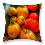 Natures Gift Throw Pillow
