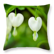 Nature's Hearts Throw Pillow