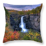 Natures Magic Throw Pillow