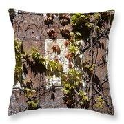 Nature's Mosaic Throw Pillow