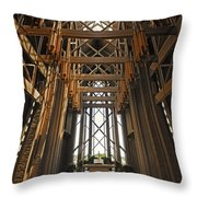 Nature's Music Throw Pillow