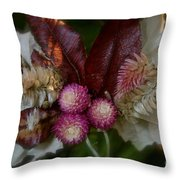 Nature's Ornament Throw Pillow