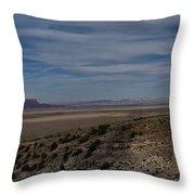 Natures Painted Desert Throw Pillow
