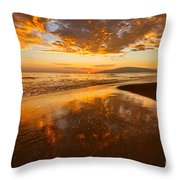 Nature's Painting Throw Pillow