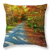 Nature's Pallette 2 Throw Pillow