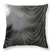 Nature's Pearls Throw Pillow