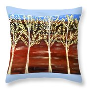 Natures Poetry Throw Pillow