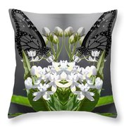 Natures Reflection Throw Pillow