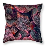 Nature's Rich Tapestry Throw Pillow