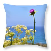 Natures Song Throw Pillow by Lynn Bauer