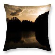 Nature's Sunset Throw Pillow