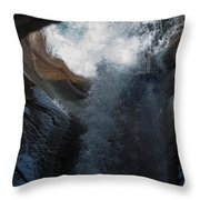 Natures Super Slide Throw Pillow