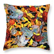 Nature's Tapestry Throw Pillow