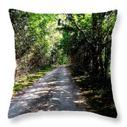 Nature's Trail Throw Pillow
