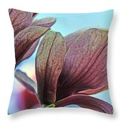Nature's Zenith Throw Pillow