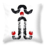 Naughty Norman Throw Pillow