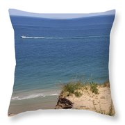 Nauset Light Beach - Cape Cod Throw Pillow