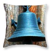 Nautical Bell Throw Pillow