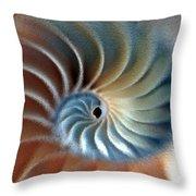 Nautilus Impression Throw Pillow