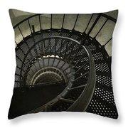 Nautilus Stairway Throw Pillow
