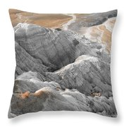 Navaho Badlands Throw Pillow