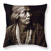Navajo Medicine Man, C1904 Throw Pillow