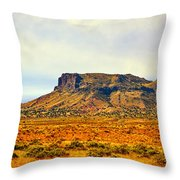 Navajo Nation Monument Valley Throw Pillow