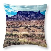 Navajo Reservation Series 1 Throw Pillow