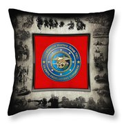 Naval Special Warfare Group Two - N S W G-2 - Over Navy S E A Ls Collage Throw Pillow