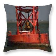 Navigational Bell Throw Pillow