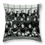 Navy Football 1913 Throw Pillow