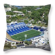 Navy Marine Corps Memorial Stadium Throw Pillow