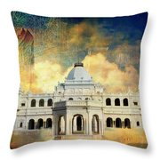 Nawab's Palace Throw Pillow