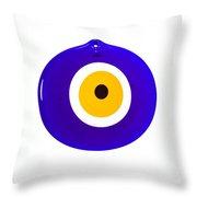 Nazar Boncugu Throw Pillow