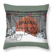 Nba Basketball Throw Pillow